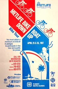 Bike Down Boat Up, the South Florida Chapter's first bike to
