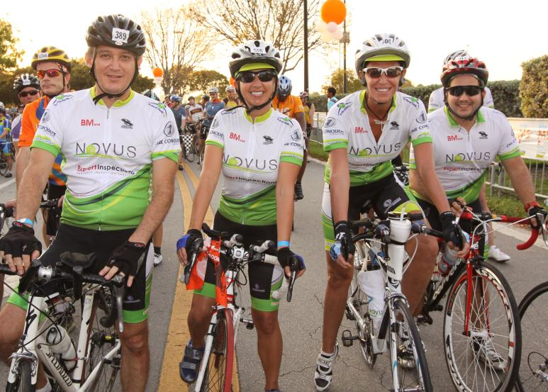 Novus at Bike MS