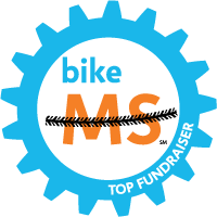 Bike MS Top Fundraiser